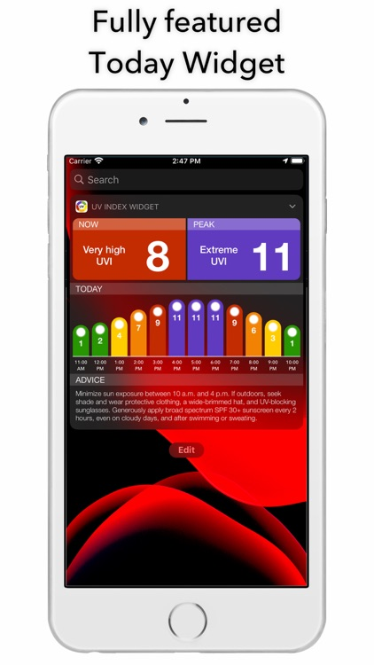 UV Index Widget - Worldwide screenshot-5