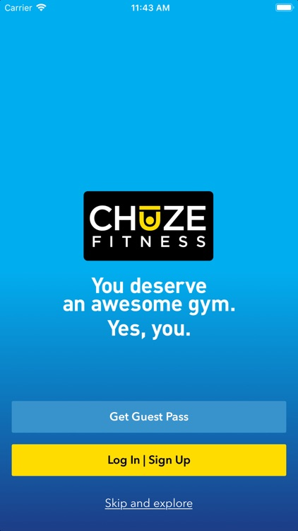 Chuze Fitness. screenshot-0