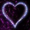 Love Heart Neon Stickers