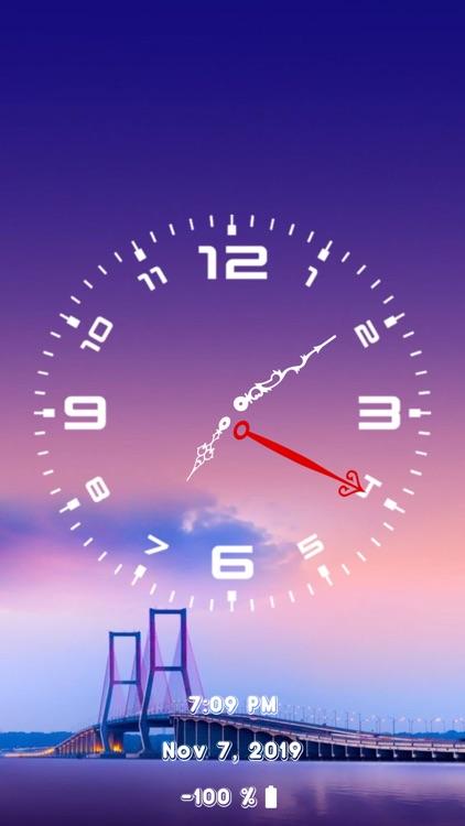 Analog Clock - Face Clock Time screenshot-3