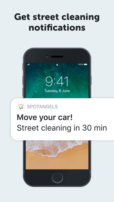 Screenshot for SpotAngels Parking Map & Deals in United States App Store