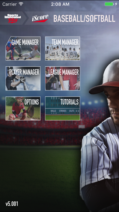 Iscore Baseball And Softball review screenshots