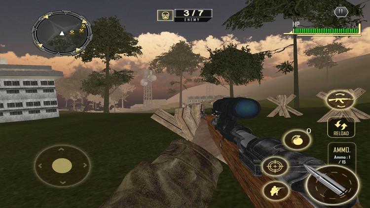 War Shooting Survival