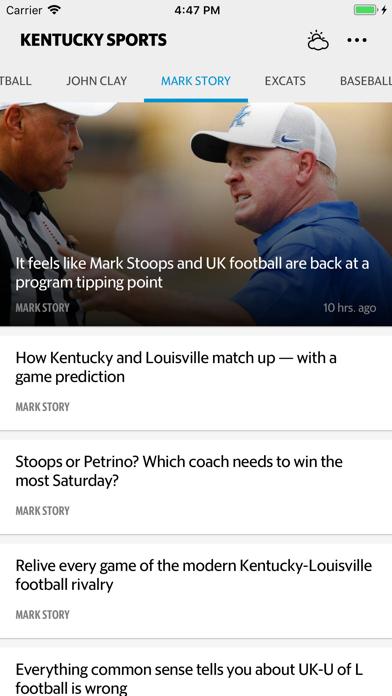 Kentucky Sports Screenshot