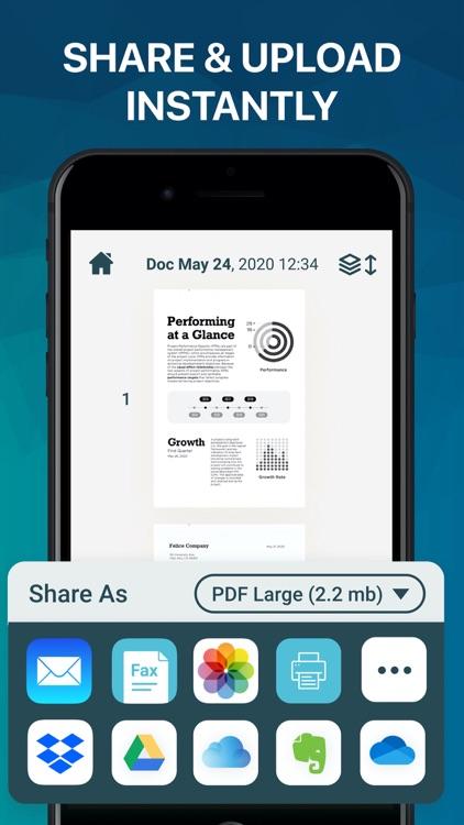 Easy Scanner PDF Document Scan screenshot-3