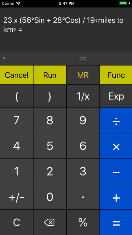 Function Calc
