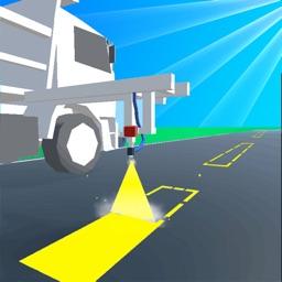 Road Marking: ASMR