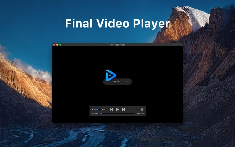 Final Video Player Screenshot