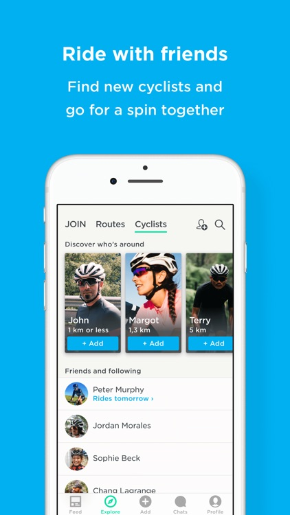 JOIN: Meet new cycling friends