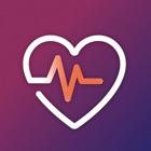 Monitor de ritmo cardíaco icon