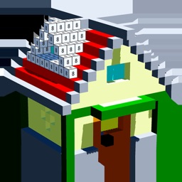 House 3D Voxel Color By Number
