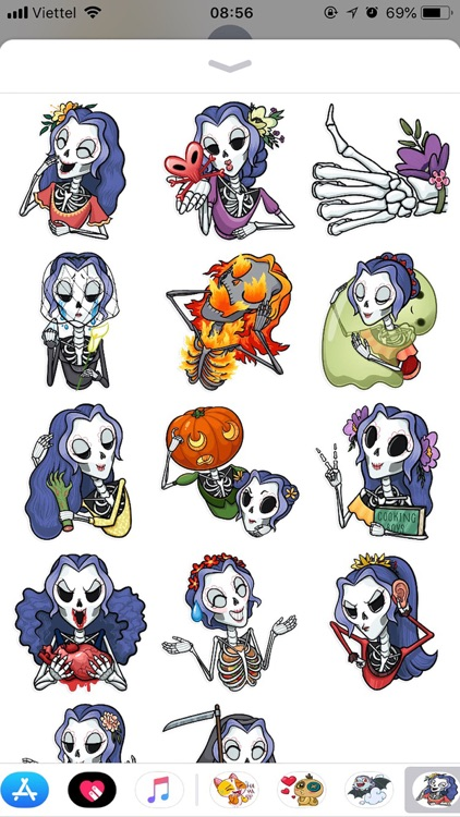 Halloween Emoji Funny Sticker