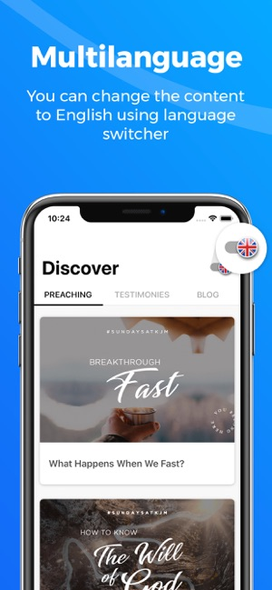 King Jesus Now on the App Store