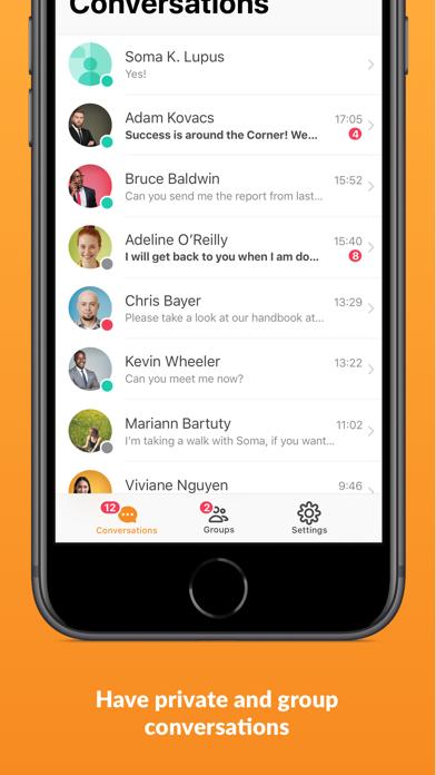 GoToMeeting Messenger Screenshot