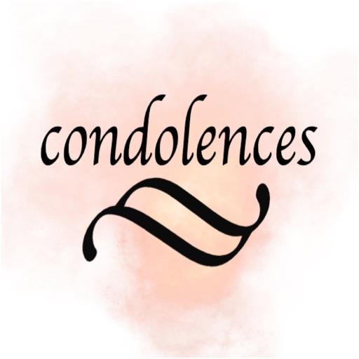 condolences stickers