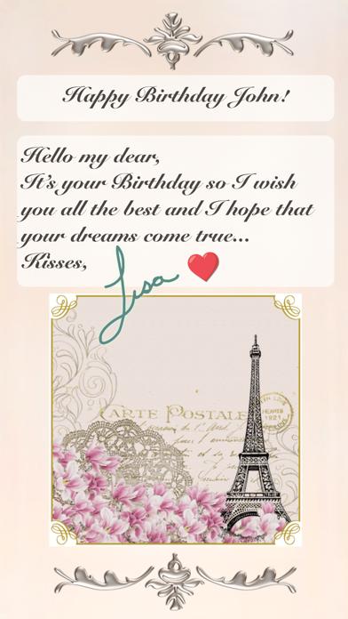 Classical Birthday Screenshots