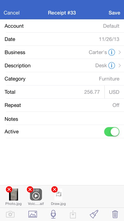 Receipts Pro screenshot-2