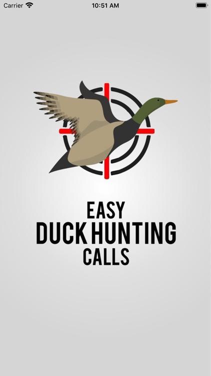 Easy Duck Hunting Calls: Decoy screenshot-0