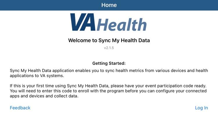VA Sync My Health Data screenshot-5