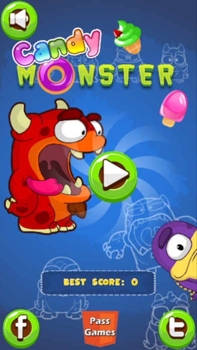 Candy Monster! app image