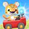 App Icon for Kleine Tijger: Brandweerauto App in Belgium IOS App Store
