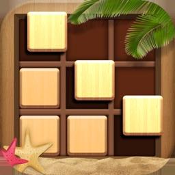 Wood Block Sudoku Puzzle