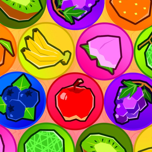 FruitTrio:揃えて消せ!シンプルなパズルゲーム