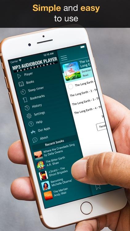 MP3 Audiobook Player screenshot-3