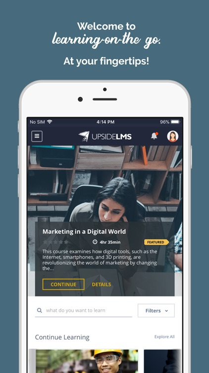 UpsideLMS screenshot-3