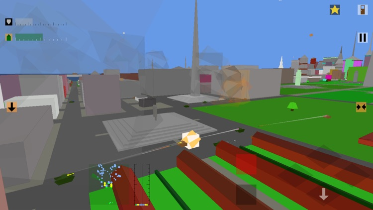 Retro Flight: 3D battle sim screenshot-6