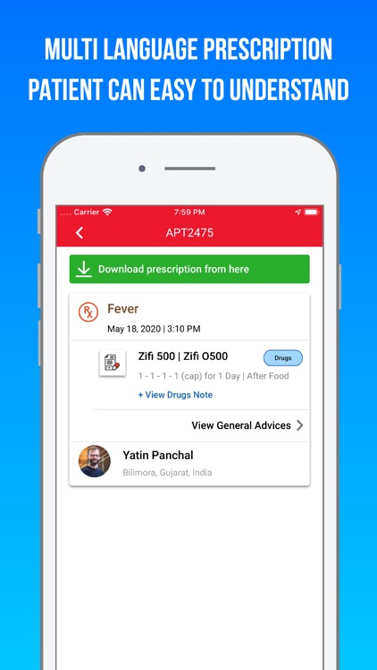 Healthray DR - For Doctors screenshot-4