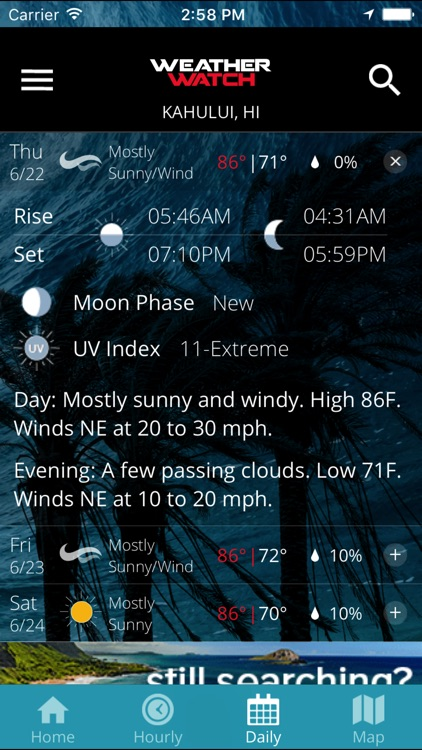 WEATHERWatch Hawaii screenshot-3