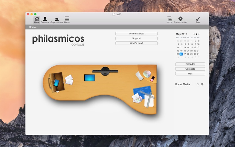 Philasmicos Contacts 2 for Mac