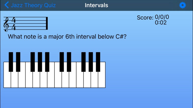 Jazz Theory Quiz screenshot-5