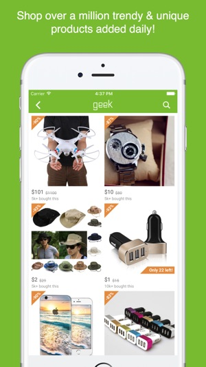 Geek - Smarter Shopping on the App Store