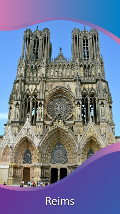 Reims Tourist Guide screenshot 1