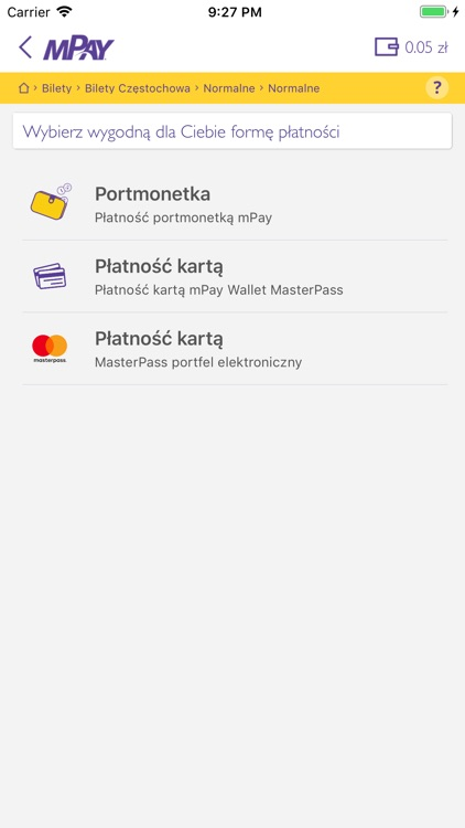 mPay płatności mobilne screenshot-6