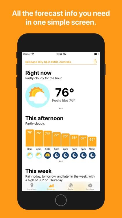 Hello Weather screenshot-0