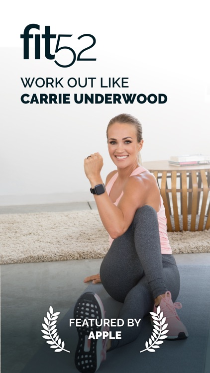 fit52 with Carrie Underwood screenshot-0