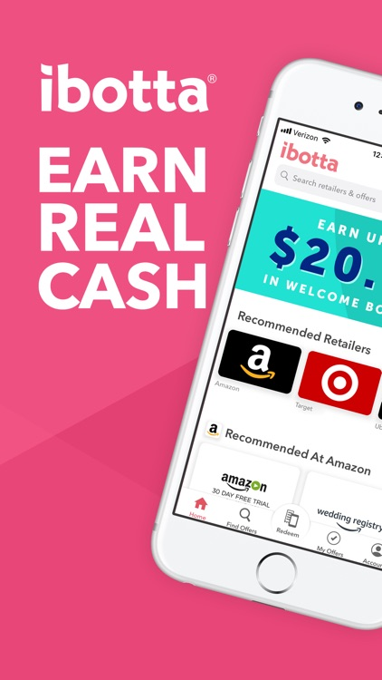 Ibotta: Cash Back Rewards App screenshot-0
