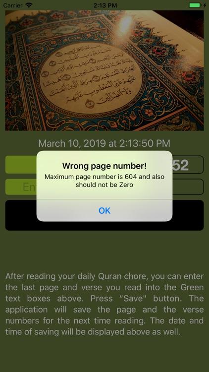 Quran Bookmark screenshot-3