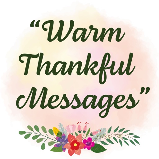 Warm Thankful Messages
