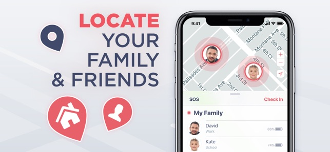 Safe24: Find Friends & Phones on the App Store on