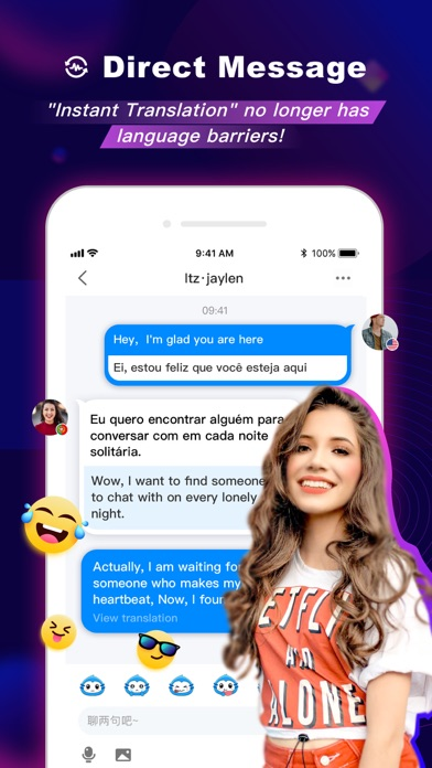 FaceCast - Live Video Chat Screenshot