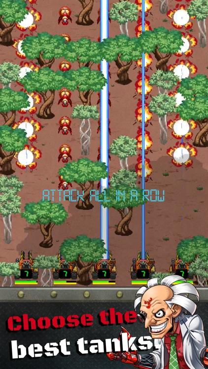 Tank Army - Fast Fingers Shmup screenshot-3