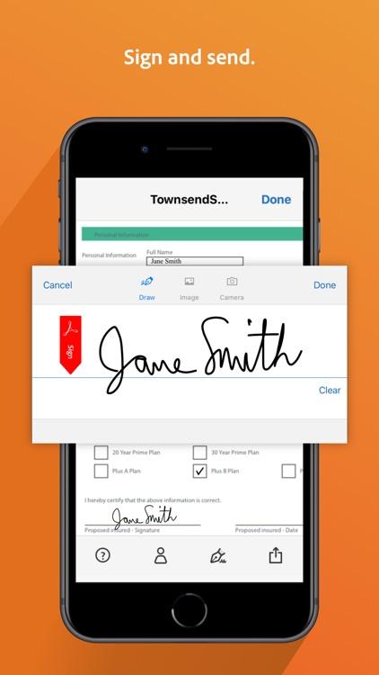 Adobe Fill & Sign-Form Filler