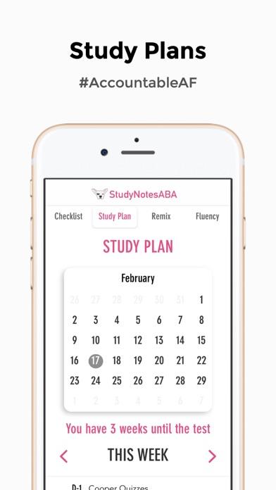 Study Notes ABA Screenshot