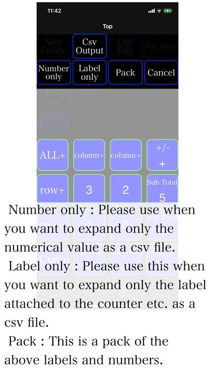 Counter Sheet screenshot-6