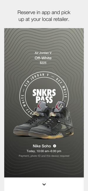 Nike SNKRS: Sneaker Release on the App