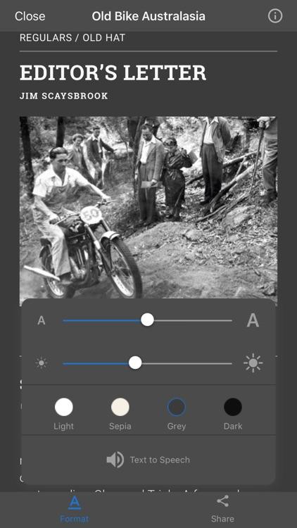 Old Bike Australasia screenshot-5
